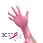 Micro-Touch NitraFree Pink Gloves, XS