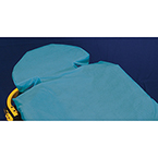 "Taylor's G-Force SureFit?, 36"" x 90"", Fluid Resistant, Fitted Stretcher Sheet, Blue, Non-Latex Elastic Band"