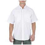 5.11 Men Taclite Pro Shirt, Short Sleeve, White, 2XL