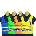 ICS Vest, COMMAND, Blue