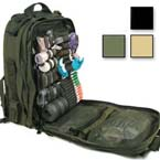 S.T.O.M.P. II Medical Backpack (Jumpable), Empty, 14inch x 21inch x 9inch, Black