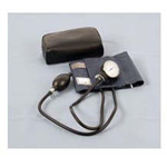 Blood Pressure Unit, Adult, Navy Blue, Leatherette Case