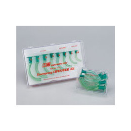 Cath-Guide Emergency LIFESAVER Airways Kit, Disposable, Plastic Case, Sizes 5.5, 6, 7, 8, 9, 10, 11, 12mm