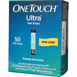 One Touch Ultra Glucose Test Strips