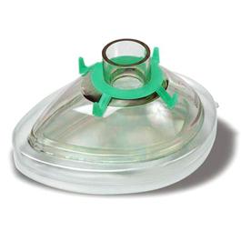 Premium Anesthesia Breathing Mask, Green Hook Ring, Toddler