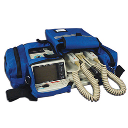 Curaplex Defibrillator Case, Zoll 1400/1600, Royal Blue