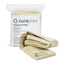 Curaplex Triangular Bandages, Polypropylene, 40inch x 40inch x 56inch