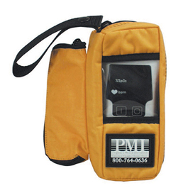 Curaplex Pulse Oximeter Case, for use w/ BCI 3301 Pulse Oximeter, Yellow