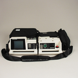Curaplex Defibrillator Case, Lifepak 11, Black *Discontinued*