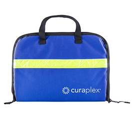 Curaplex Laryngoscope Zippered Case, Royal