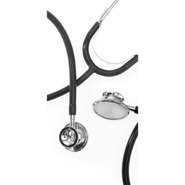 Dual Head Stethoscope, Pediatric, Black