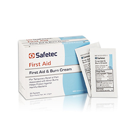 First Aid/Burn Cream, w/Benzalkonium and Lidocaine, 0.9gm Unit Dose
