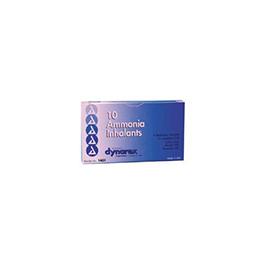 Ammonia Inhalants, Ampule