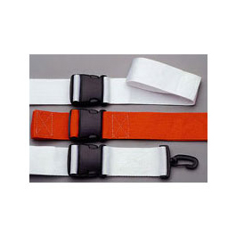 Straps, Polypropylene, Plastic Side Release, 2 Piece w/Plastic Swivel Speed Clip Ends, Orange, 5 ft