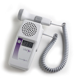 LifeDop 250 Hand-Held Doppler, w/ 8MHz V Probe