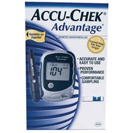 Accu-Chek Advantage Glucose Monitor Care Kit, *Discontinued*