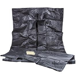 Curaplex Body Bag, Heavy Duty, Black, 42inch x 90inch, 84inch Girth*Discontinued*