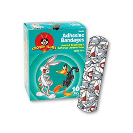 Children's Adhesive Bandages, Bugs Bunny and Daffy Duck