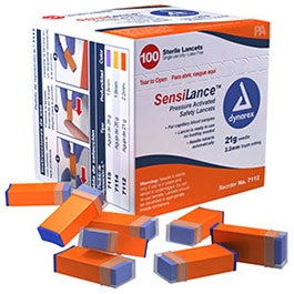 SensiLance Safety Lancets, 26 ga x 1.8mm