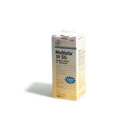 Multistix 10 SG Reagent Strips 100/Bottle