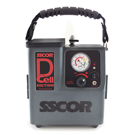 Suction Unit, SSCOR DCell, 1200cc Canister
