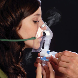 Continuous Care Nebulizer, with Mask