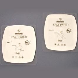 Physio Control Quantum Edge System Fast-Patch Plus Electrodes, Disposable.