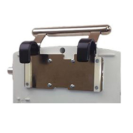 Handle and Static Bedrail Hook Assembly, for AHP300 Ventilator, PVC-coated Hooks and Nylon Bumper