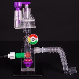 VAR Automatic Resuscitator w/Manometer, 7foot O2 Tubing, Flex Hose