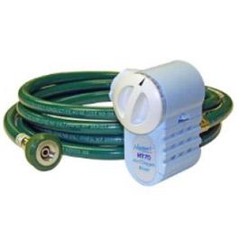 Air/Oxygen Mixer w/Green Hose, DISS Fitting, for Newport HT70 Plus Ventilator