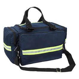 Maxi Trauma Bag w/ Side Strap, Blue