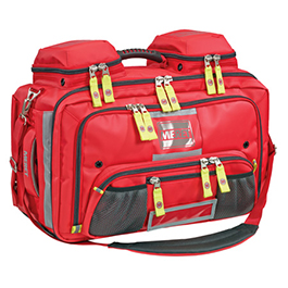 OMNI PRO, BLS/ALS Total System Infection Control Bag, Red, TS2 Ready