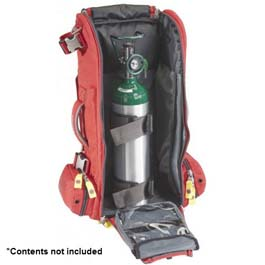 Meret Recover Pro O2 Response Bag, Red, Extended Height, TS2 Ready