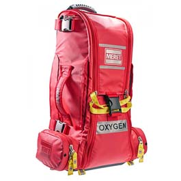 RECOVER™ PRO O2 Response Bag, Infection Control, TS2 Ready™, Extended Height, Red