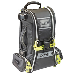 RECOVER PRO O2 Response Bag , Black Infection Control, TS2 Ready *Limited Quantity*