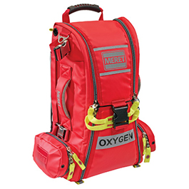 RECOVER PRO O2 Response Bag, Red Infection Control, TS2 Ready*LIMITED QUANTITY*