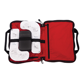 Basic King Vision Video Supply Bag, Red, 13in x 10.5in x 2.5in
