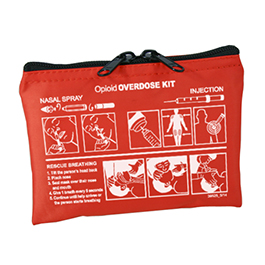 Community Outreach Opioid Overdose Kit, Case Only, Orange
