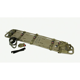 Curaplex Tactical Field Spinal Immobilization Kit, Olive Drab