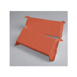 Head Blocks, w/Handle, Floatable, Disposable Foam, 4inch x 5inch, Orange