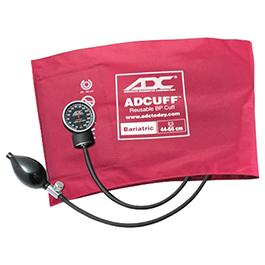 BP Unit, Diagnostix 720 Series, Size Bariatric, Burgundy, Adcuff Nylon, Pocket Aneroid, Case, LF