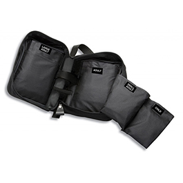 Multikuf Case, Black, Can Hold up to 4 Cuffs and Palm Manometer