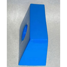 Big Blue Replacement Vinyl Head Blocks, Extra Large, w/Ear Holes, 1 pr, Blue