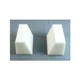 Headblock Wedge Set, incl Head Immobilizer, White Foam Block Pack, Disp