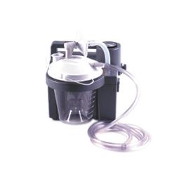 Homecare Suction Unit, Adj Flow Regulator, Gauge, 800cc Bottle, AC/DC Battery, Portable