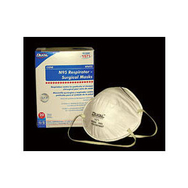 N95 Mask, Particulate, Respirator/Surgical, Cone, White