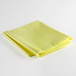 Emergency Blanket, Heavy Duty, Fluid Impervious, Yellow, 54inch x 80inch
