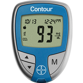 CONTOUR Blood Glucose Monitoring System, incl Pouch and User Guide*LIMITED QUANTITY*