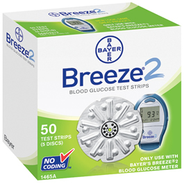 Breeze 2 Test Strips *Discontinued*
