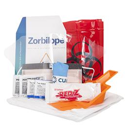 Curaplex Intermediate Fluid Spill Kit